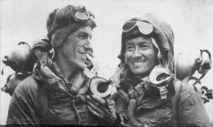 Edmund Hillary (links) - Selbstbewusstsein Sprüche