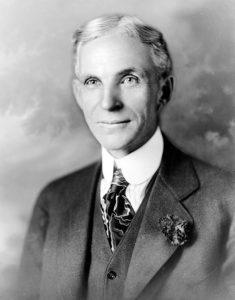 Henry Ford - Selbstbewusstsein Sprüche