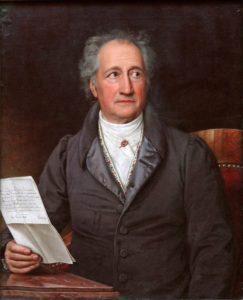 Johann Wolfgang von Goethe - Ziele Zitate