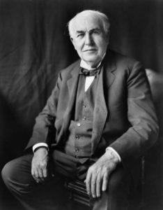 Thomas A. Edison - Selbstbewusstsein Sprüche
