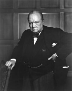 Winston Churchill - Selbstbewusstsein Sprüche
